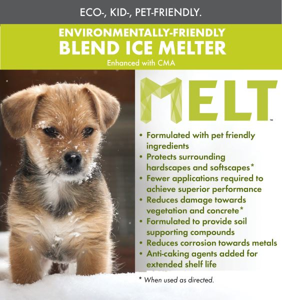 Melt 50 Lb Resealable Bag Premium Enviro Blend Ice Melter